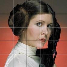 Puzzle : Princesse Leia