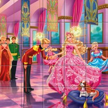 Puzzle : Barbie La Princesse et la Pop Star, le bal
