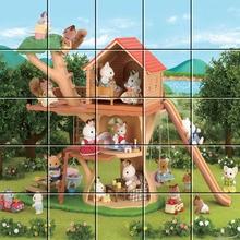 Puzzle La cabane dans les arbres