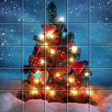Puzzle : Beau sapin de Noël
