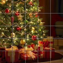 Puzzle : Les cadeaux au pied du sapin