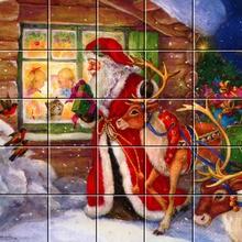 Puzzle : Le passage du Père Noël