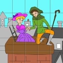 Puzzle La bergère et le ramoneur