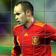 Puzzle : Andres Iniesta
