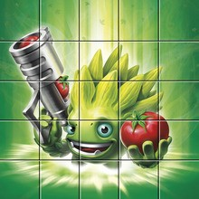 Puzzle : FoodFight de Skylanders Trap Team