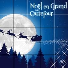 Puzzle : Le Père Noël Carrefour