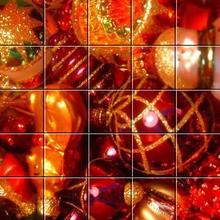 Puzzle : Les boules de Noël