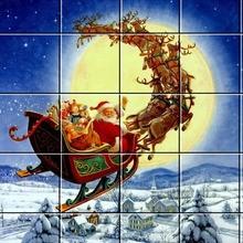Puzzle : Le traîneau du Père Noël