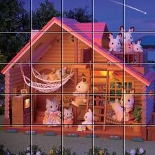 Puzzle Dans le chalet en bois