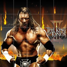 Puzzle The king ok kings - Triple H