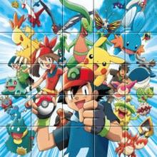 Puzzle Pokémon affiche