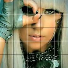 Puzzle Lady Gaga