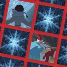 Memory L'apprenti Père Noël et le flocon magique - Difficile