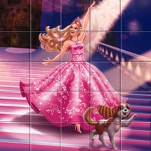 Puzzle : Barbie La Princesse et la Pop Star