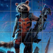 Puzzle : Rocket Raccoon