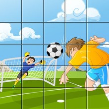 Puzzle : Joueur de foot