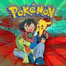 Puzzle Sacha et Pokémon