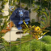 Puzzle Les As de la Jungle