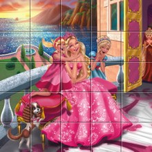 Puzzle : Barbie La Princesse et la Pop Star Victoria et ses amies