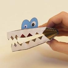 Vidéo de bricolage : Le monstre Clac-Clac