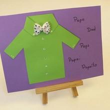 Fiche brico : Carte chemise de papa