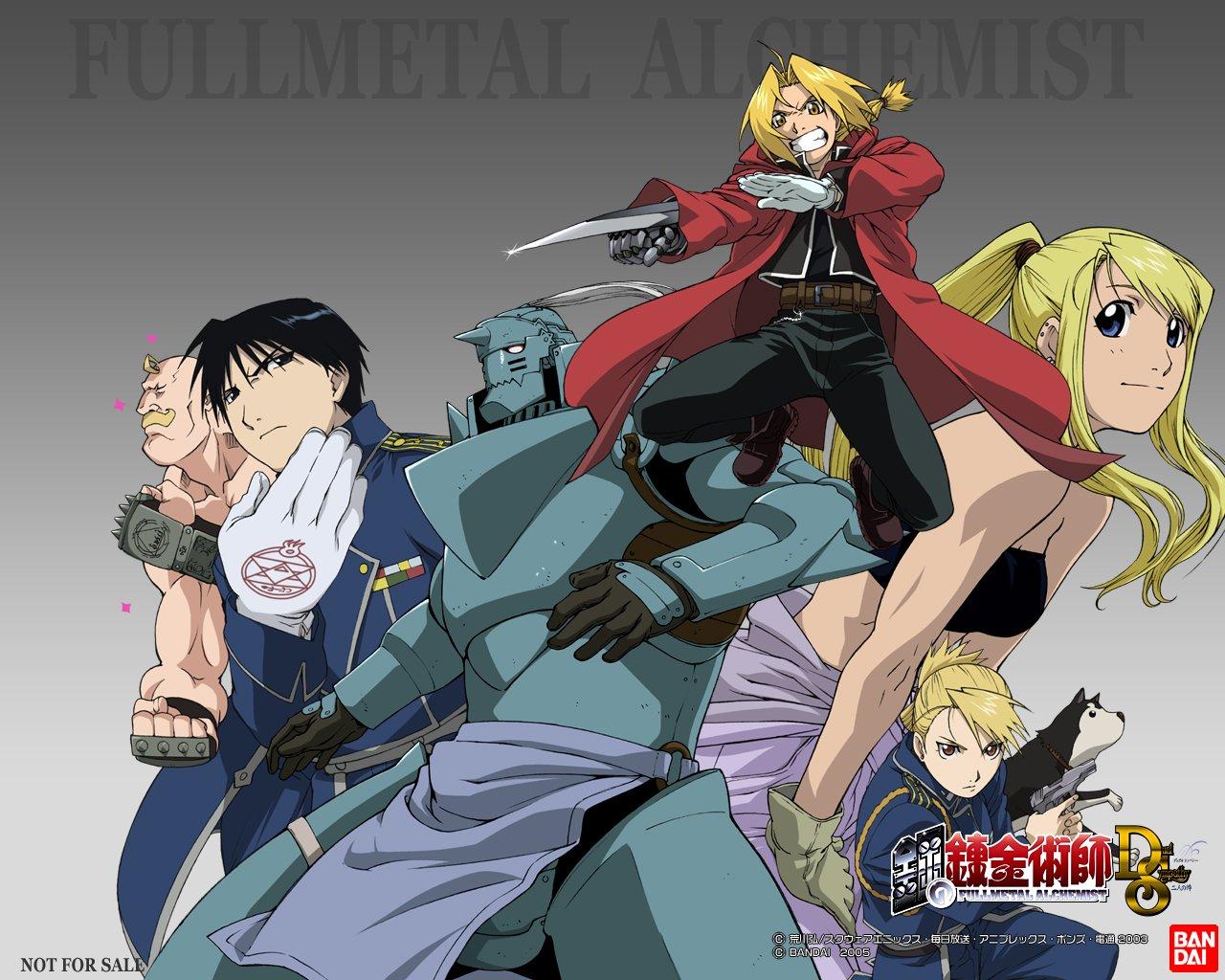full metal alchemist !!!!!!!!!