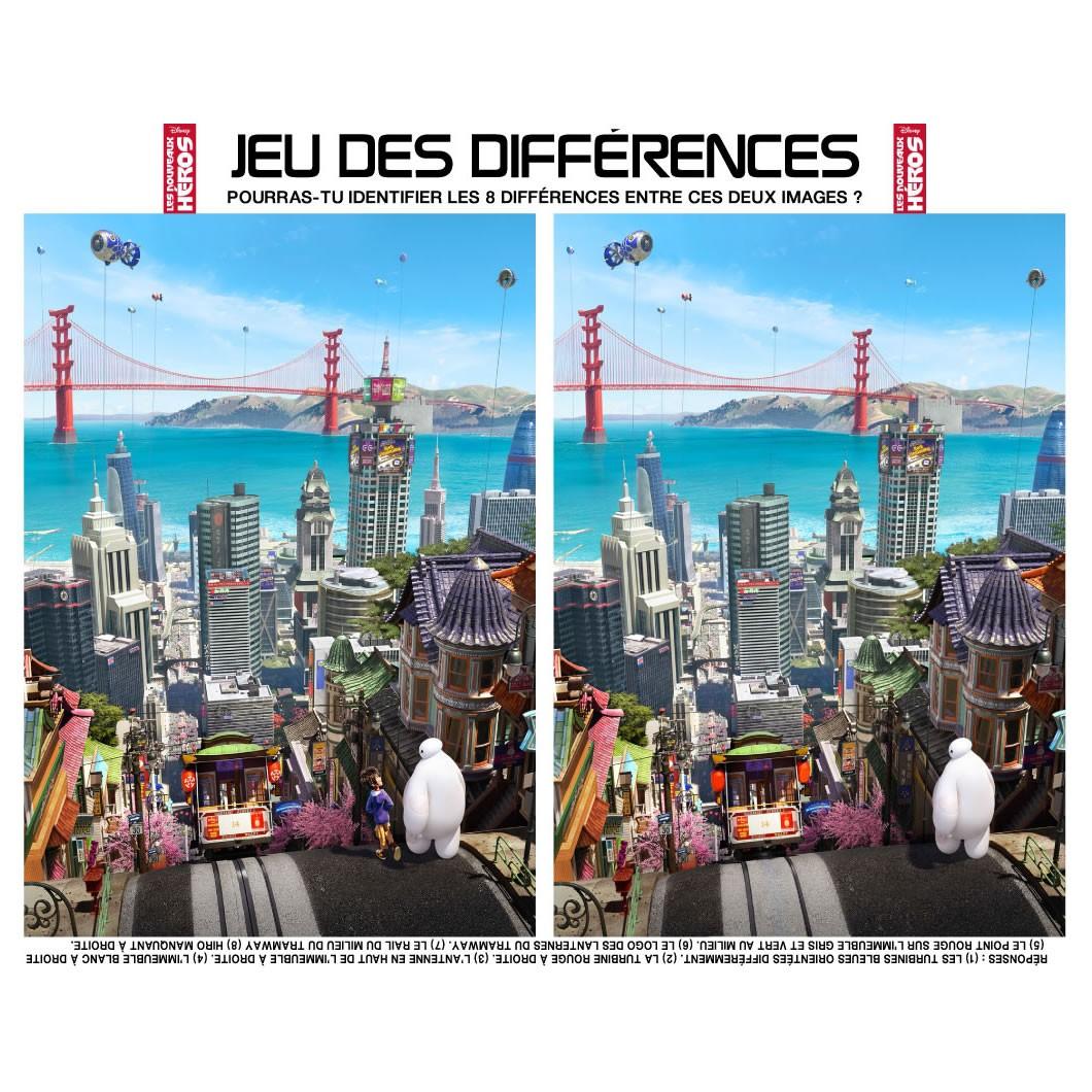 Jeux de jeux des différences les nouveaux héros - fr ...