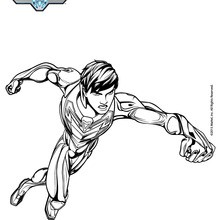 Coloriage : Max Steel sans casque