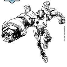 Coloriage : Cytro, l'allié de Max Steel