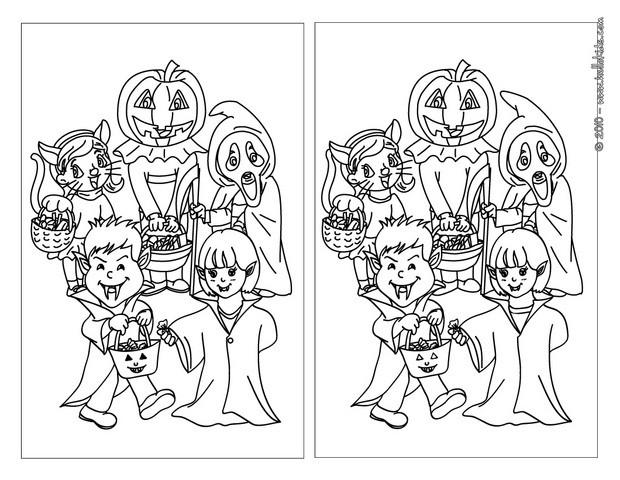 Jeux de les costumes d'halloween - fr.hellokids.com