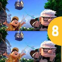 Jeu des différences : Là-Haut - Pixar