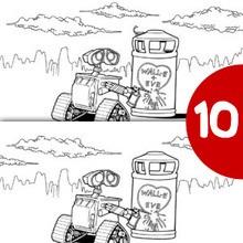 Jeu des différences : Wall-e