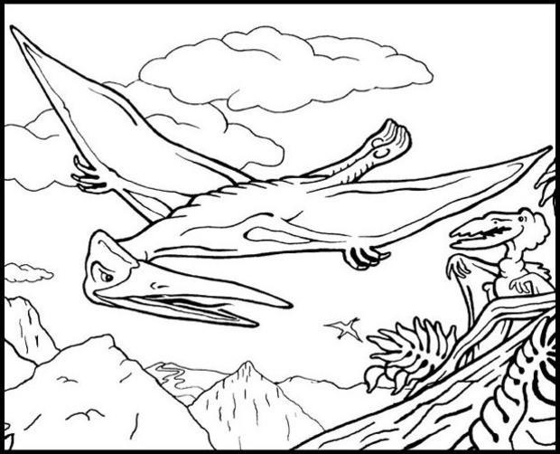 Coloriage Animaux Volants.Coloriages De Dinosaures Coloriages Coloriage A Imprimer Gratuit
