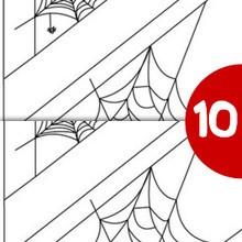 Jeu des différences : Toiles d'araignées