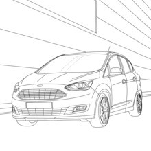 Coloriage : Ford C-Max
