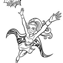 Coloriage Barbie : Kara Super Princesse