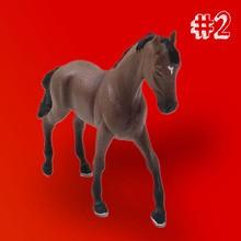 Le cheval qui changeait de couleur