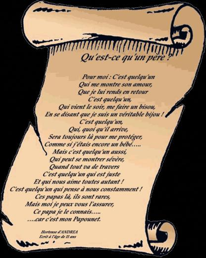 Poèmes Fete Des Peres 8 Poésies écrites Par Des Enfants