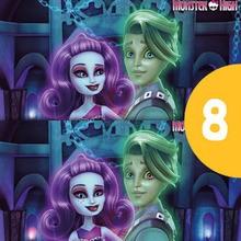 Jeu des différences : Monster High : Spectra Vondergeist et Porter Geiss