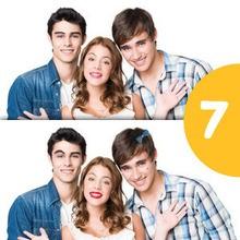 Jeu des différences : Tomas, Violetta et Leon