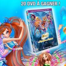Gagnants des DVD des Winx - Le Mystère des Abysses