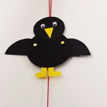 Activité : Le pantin corbeau