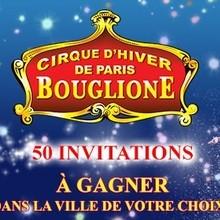 Gagnants des invitations au Cirque d'Hiver Bouglione