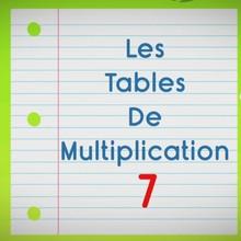 Chanson : Comptines pour apprendre les tables de multiplication - La Table de 7