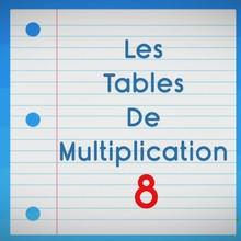 Chanson : Comptines pour apprendre les tables de multiplication - La Table de 8