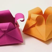 Le panier origami