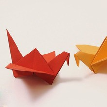 L'oiseau origami