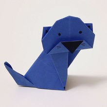 Le chat origami