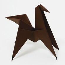 Le cheval origami