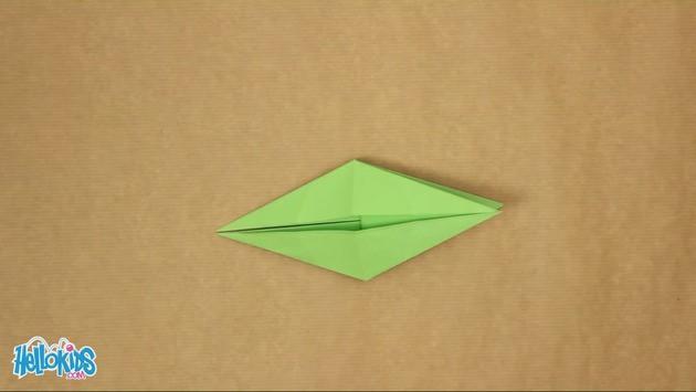 Activités Manuelles Le Dragon Facile Origami Fr Hellokids Com